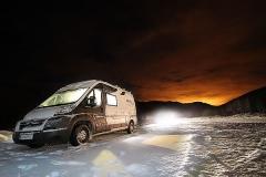 Ski touring tour of Norway