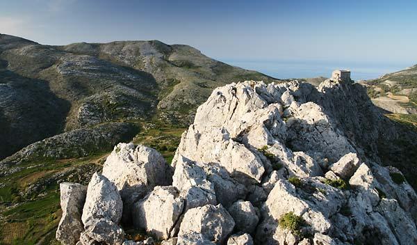 ridge behind Koskina castle