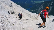 descending via Italian route