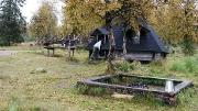 Kota (hut) where we stayed for the night, near Pallastunturi Visitor Centre, Finland
