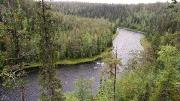 Jyrävä river, Pieni Karhunkierros trail, Oulanka NP, Finland