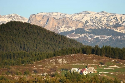 Durmitor at sunrise