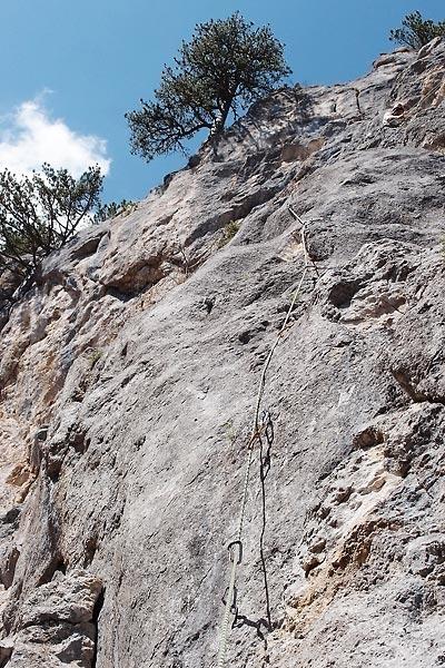 Pirlitor west wall, Il cetriolo 5b/c