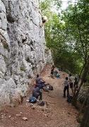 a rock climbing classroom, Kal-Koritnica, July ©Jonna