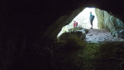 through the tunnel to the balcony, Šoder graben, Makole, August, ©Jonna