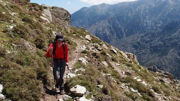 towards bergeries de Capelaccia