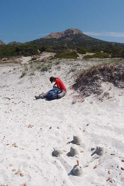 Punta Liatoghiu from Plage de'l Ostriconi