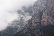 Col/Aiguille De Bavella (Bavedda) from the east