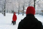walk around Tampere suburbs in -27°C (-17°F)