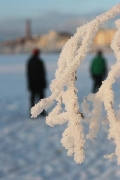 a walk on Kaukajärvi lake, Tampere