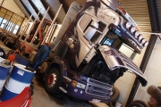 Transformers, the Scania R620 60t logging edition. 1 month & 80.000 km