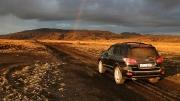 chasing midnight rainbows near Afangagil