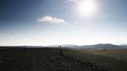 morning jog in the highlands