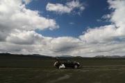 lunch break in the middle of a black desert on F228 (Veiðivatnaleið)
