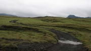 Litla-Heiði (F2208) exploring valleys below Katla volcano