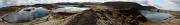 veidivotn panorama, Litlisjor, Graenavatn & Stora-Fossvatn in 300° panorama