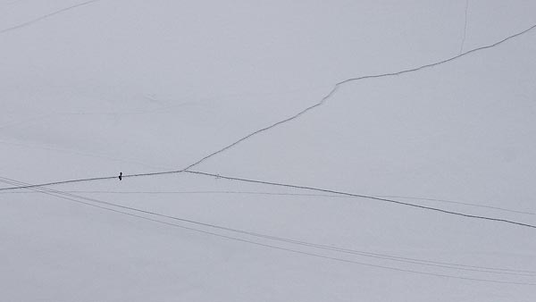 a fork in the road, Col du Midi