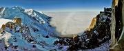 Aiguille du Midi, Mont Blanc & Glacier des Bossons ©Jaka Ortar