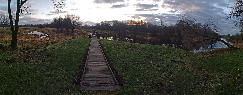 Krekenava regional park, Lithuania, Dec.31st