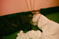 tent training, Jul.26th