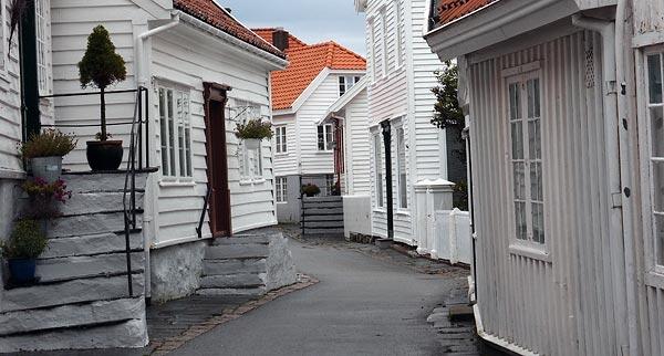 Skudeneshavn old town