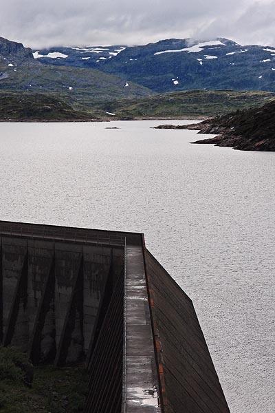 Kjeladammen, Hardangervidda platteau