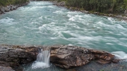 first time I saw a river spilling over sideways, Sjoa elvepark kayak center