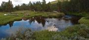 dinner spot next to Rinda river, Randsverk