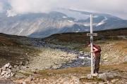 the only place to hide - Bessa river, Besshøe (2258m) & Besshøbrean glacier