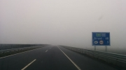 fog made the flat Hungarian part of the journey a little less depressing ©Jonna