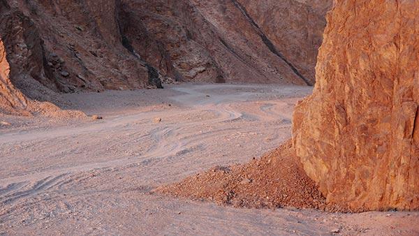 Wadi Gnai sunrise, Dahab