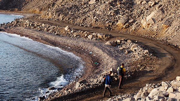 towards Wadi Shahira