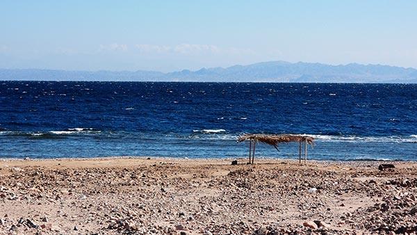 Saudi Arabia across the Gulf of Aqaba