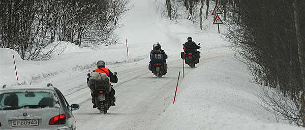 hardcore bikers in Hemsedal/Mørkedalen, ©N