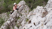 pitch 1 - Steber, IV+/III, 90m, Vipava, May 1st
