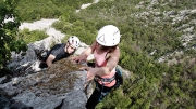 pitch 3 - Steber, IV+/III, 90m, Vipava, May 1st