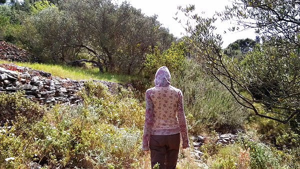 bushwhacking around cape Pelegrin, Šolta, May 1st