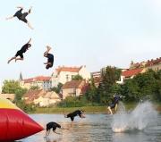 crazy, stupid, whiplash inducing 1st jump. July 7th. ©Jonna