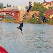 ninja style 3rd jump. July 7th, ©Jonna