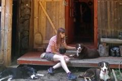 Family reunion on Uskovnica: Dina, Hina & Hanibal