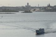 Helsinki from the ferry