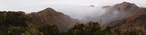 Baranco del Coral Viejo/del Anosma, end of the road @ La Cumbrilla