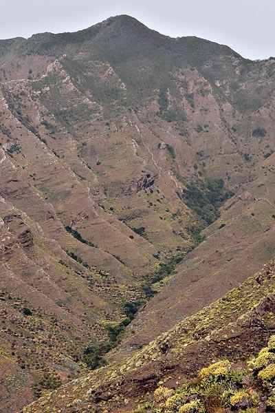 above San Sebastian de la Gomera
