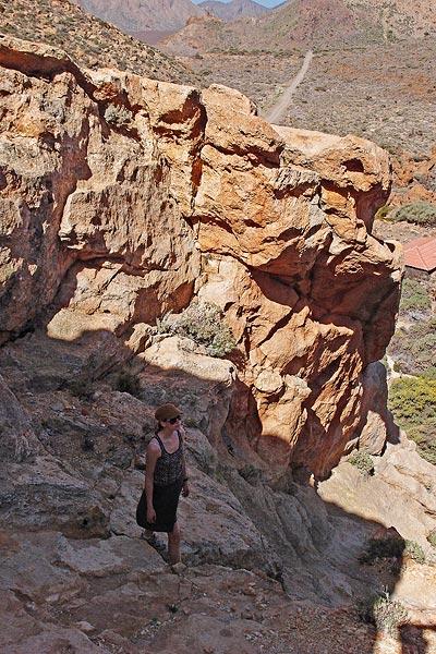 behind sector La Losa, Cañada del Capricho, Teide NP