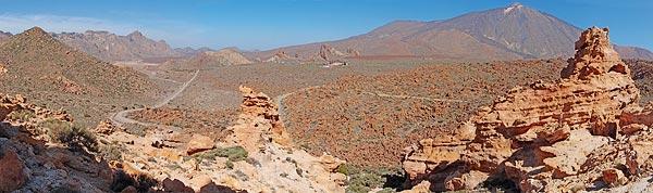 Teide from Cañada del Capricho