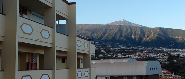view of Pico del Teide from App. Teneguia