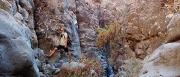 route scouting in La Martella, Barranco de la Orchilla ©Jonna