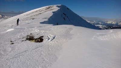 Vogelsangberg & Sauereggnock (2240m), Innerkrems, (30. Dec)