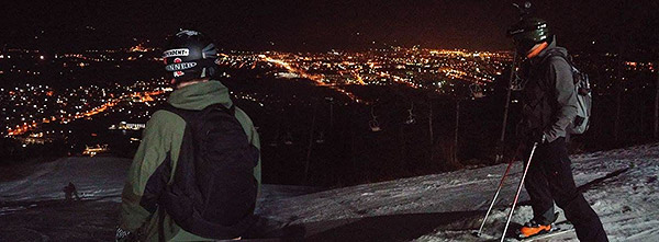 Pohorje night climb win, ski day #14, Feb.26th
