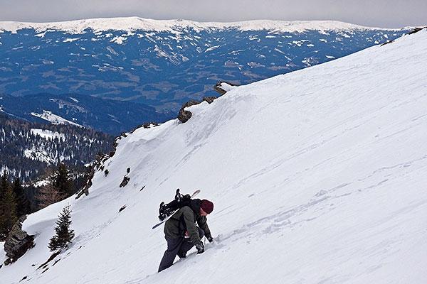 Handalm après-ski, ski day #16, Mar.4th